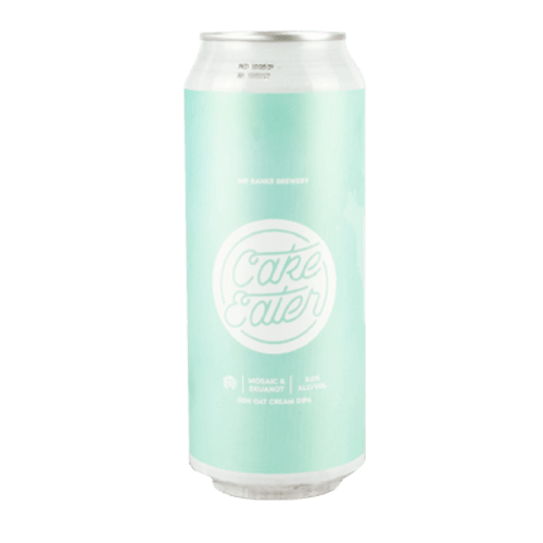 Mr Banks Cake Eater Mosaic & Ekuanot DDH Oat Cream Double IPA 500ml Cans