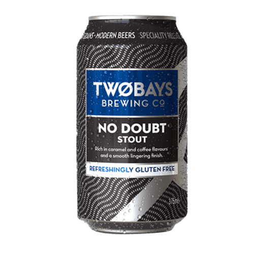 Two Bays No Doubt Stout 375ml Can