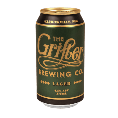 Grifter Lager 375ml Can