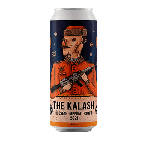 Hop Nation The Kalash 2021 Russian Imperial Stout 440ml Can