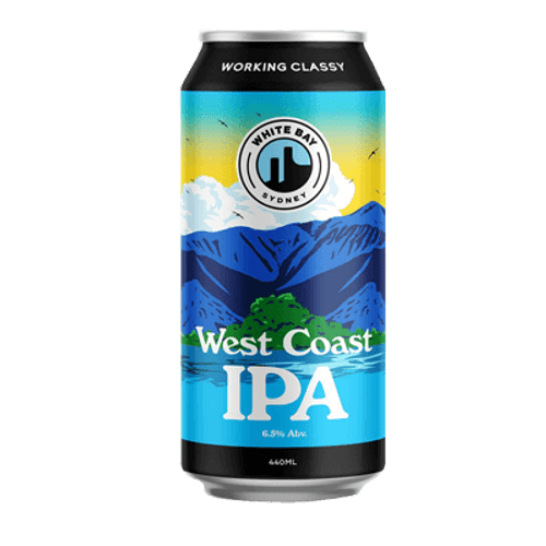 White Bay West Coast IPA 2.0 440ml Can