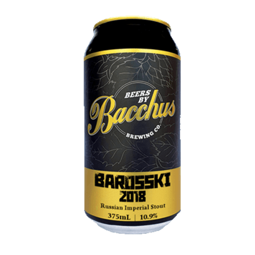 Bacchus Barosski Russian Imperial Stout 375ml Can