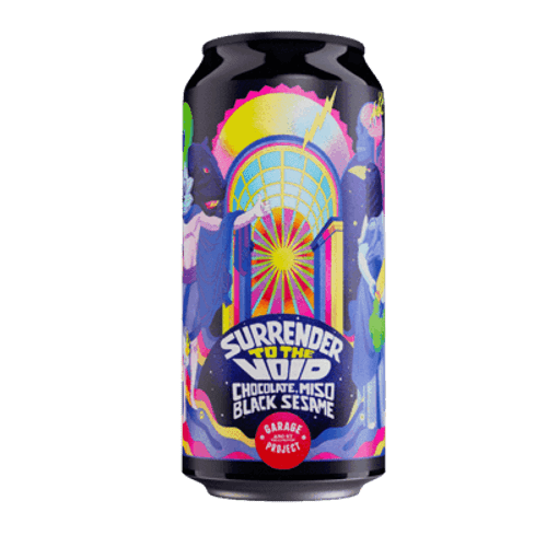 Garage Project Surrender to the Void Chocolate, Miso & Black Sesame Imperial Stout 440ml Can