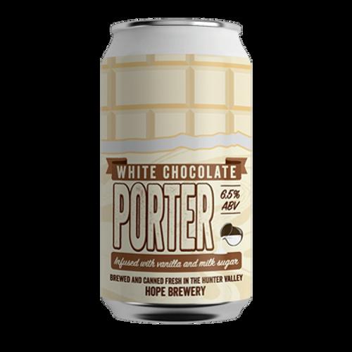 Hope White Chocolate Porter 375ml Can