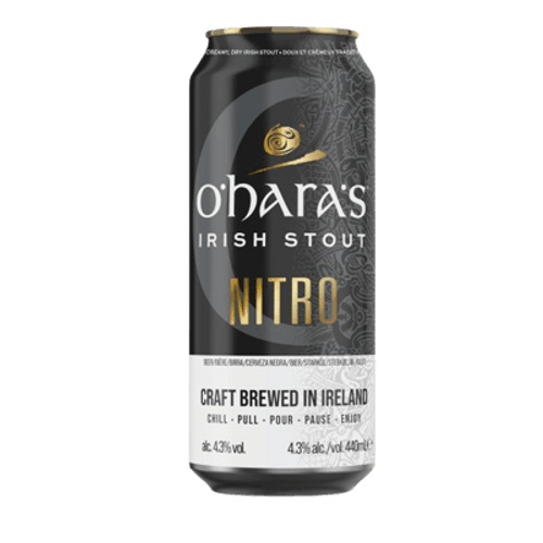 O'Hara's Irish Nitro Stout 440ml Can