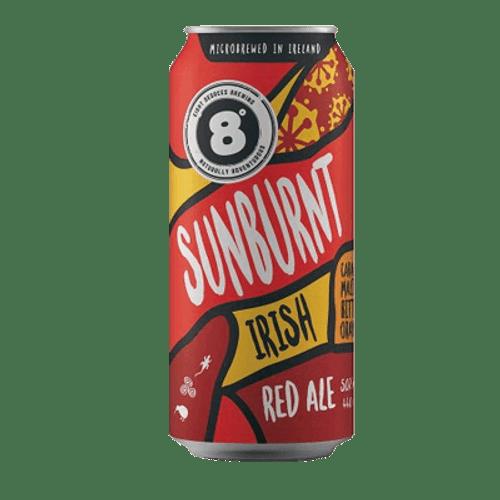 Eight Degrees Sunburnt Irish Red Ale 440ml Can