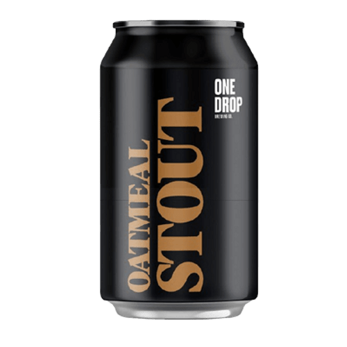 One Drop Oatmeal Stout 375ml Can
