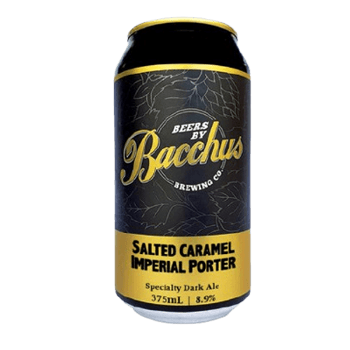 Bacchus Salted Caramel Imperial Porter 375ml Can