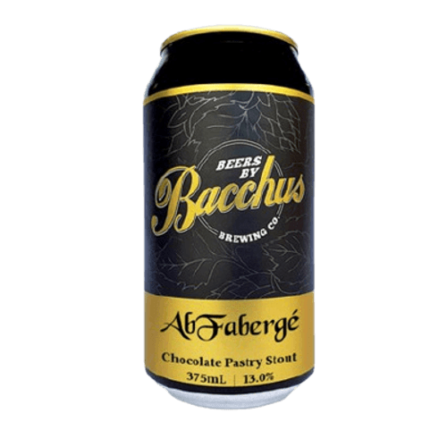 Bacchus Abfaberge Imperial Stout 375ml Can