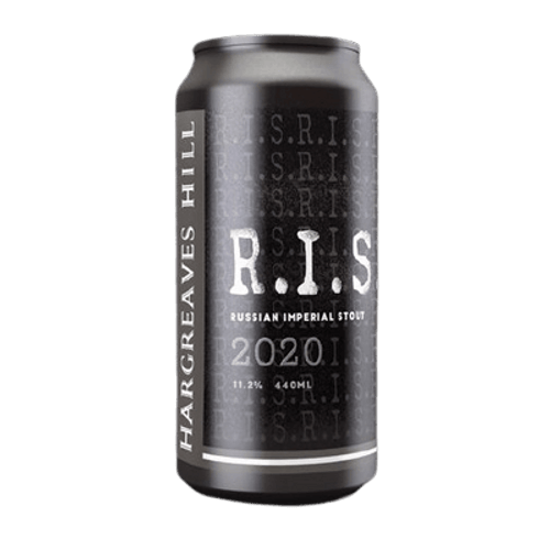 Hargreaves Hill Russian Imperial Stout 440ml Cans