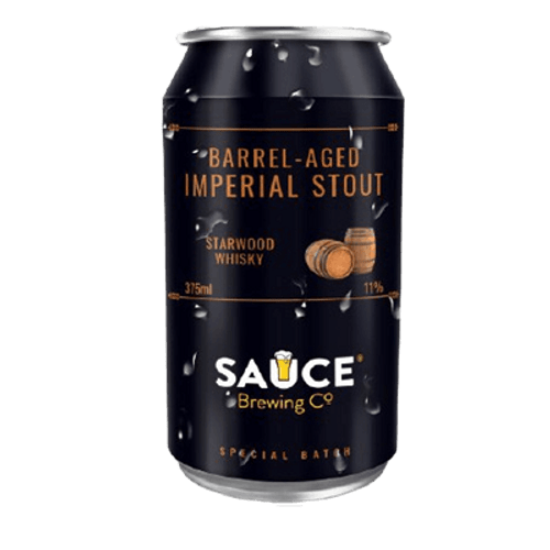 Sauce Imperial Stout Whisky Barrel Aged 2021