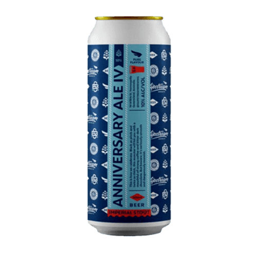 Slipstream Anniversary Ale IV 2021 Imperial Stout 500ml Can
