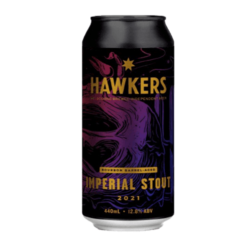 Hawkers Bourbon Barrel Aged Imperial Stout 2021