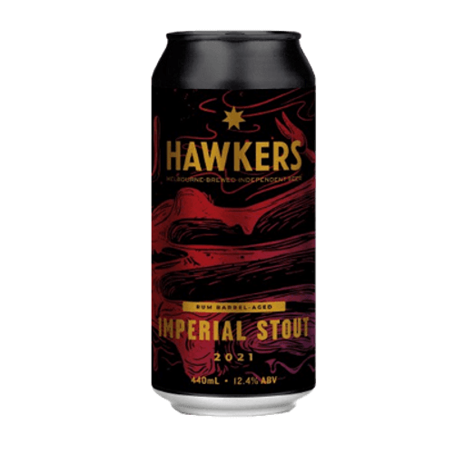 Hawkers Rum Barrel Aged Imperial Stout 2021