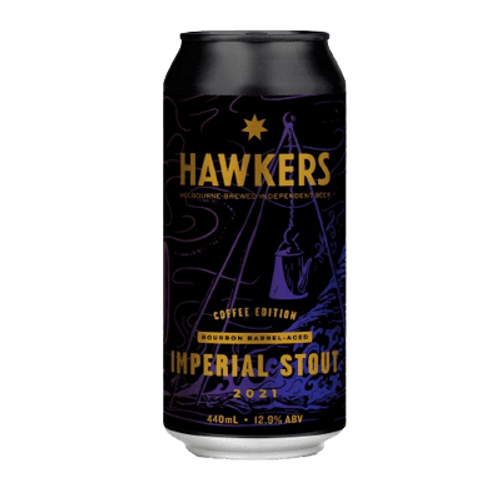 Hawkers Bourbon Barrel Aged Coffee Imperial Stout 2021