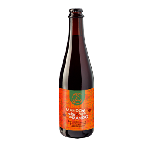 8 Wired Mando A Mando Mandarin Barrel Aged Sour Ale 500ml Bottle