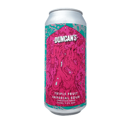 Duncan's Triple Fruit Imperial Ice Cream Sour Ale 440ml Can