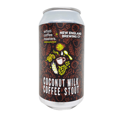 New England Coconut Milk Coffee Stout 375ml Can