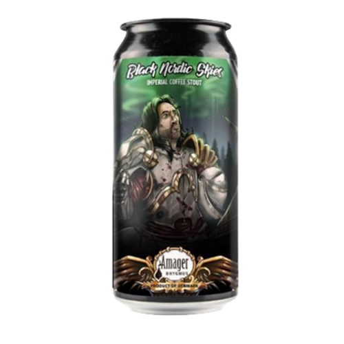 Amager/Modern Times Black Nordic Skies Imperial Stout 440ml Can