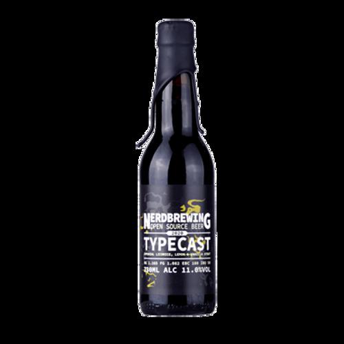 Nerd Typecast Imperial Licorice, Lemon & Vanilla Stout  330ml Bottle