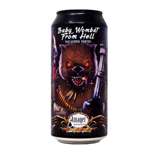 Amager Baby Wombat From Hell Porter 440ml Can