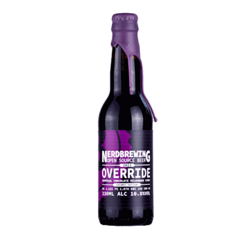Nerd Override Coconut Edition Imperial Chocolate Milkshake Stout 330ml Bottle