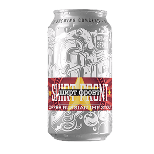 Big Shed Shirtfront Coffee Russian Imperial Stout 375ml Can