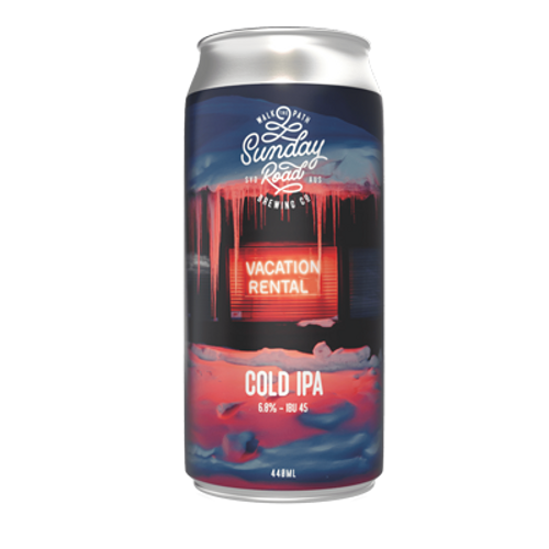 Sunday Road Vacation Rental Cold IPA 440ml Can