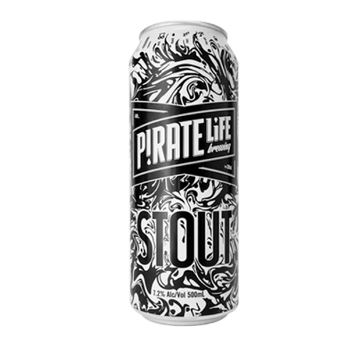 Pirate Life Export Stout 500ml Can