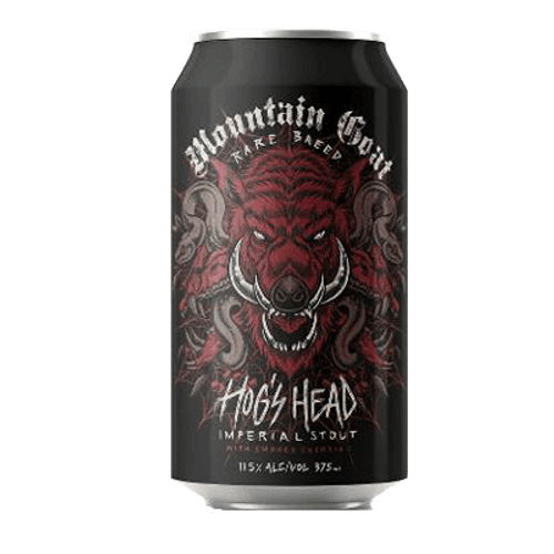 Mountain Goat Rare Breed Hog's Head Imperial Stout 375ml Can