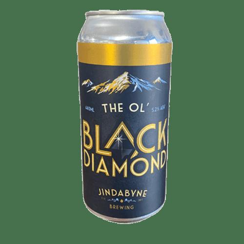 Jindabyne Black Diamond Schwarz