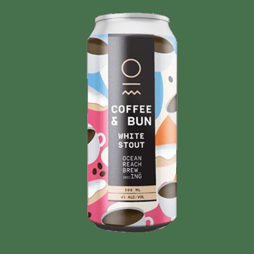 Ocean Reach Coffee and Bun White Stout 500ml Can