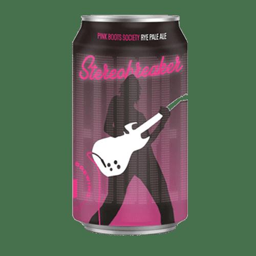 Brick Lane Pink Boots Stereobreaker Rye Pale Ale 375ml Can