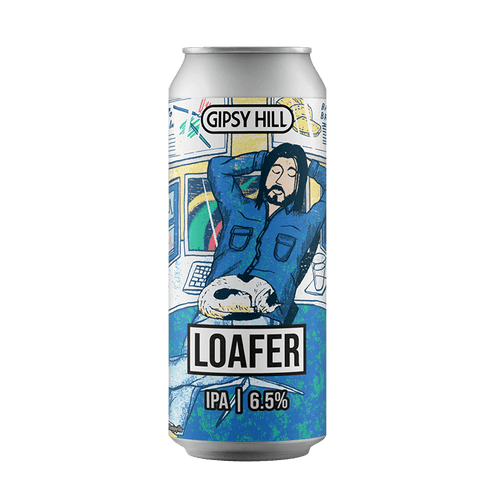 Gipsy Hill Loafer NEIPA 440ml Can