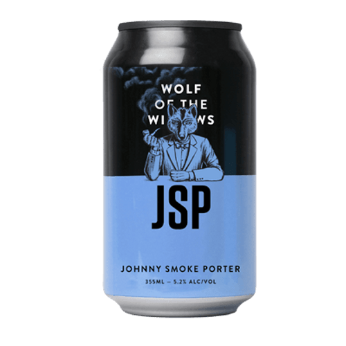 Wolf of the Willows JSP Johnny Smoke Porter 355ml Can