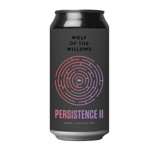 Wolf of the Willows Persistence II Rye Imperial Barrel Aged Stout 2021 440ml Can