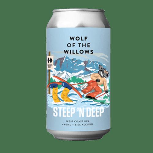Wolf of the Willows Steep 'n' Deep West Coast IIPA 440ml Can