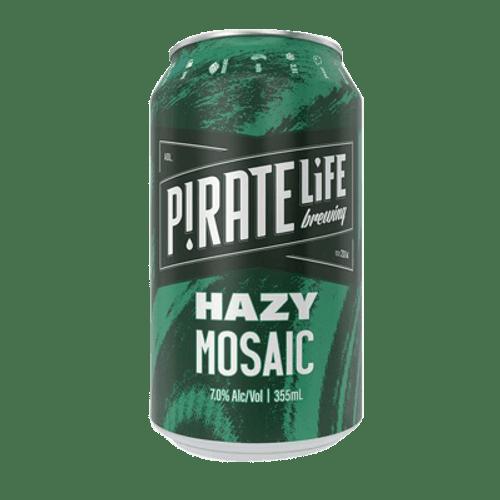 Pirate Life Hazy Mosaic IPA 355ml can