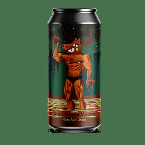 Tallboy and Moose Nitro Moose Mousse Milk Stout 375ml Can