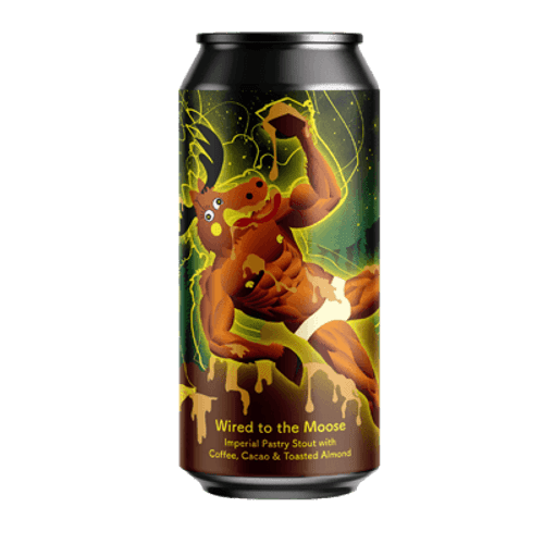 Tallboy and Moose Wired to the Moose Imperial Pastry Stout 440ml Can