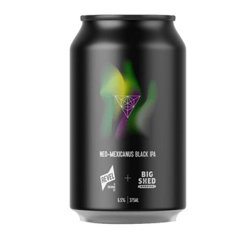 Revel/Big Shed Neo-Mexicanus Black IPA 375ml Can