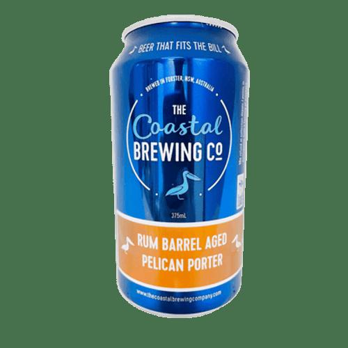 Coastal Rum Barrel Aged Pelican Baltic Porter 375ml Can