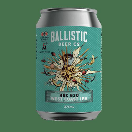 Ballistic HBC 630 West Coast IPA 375 Can