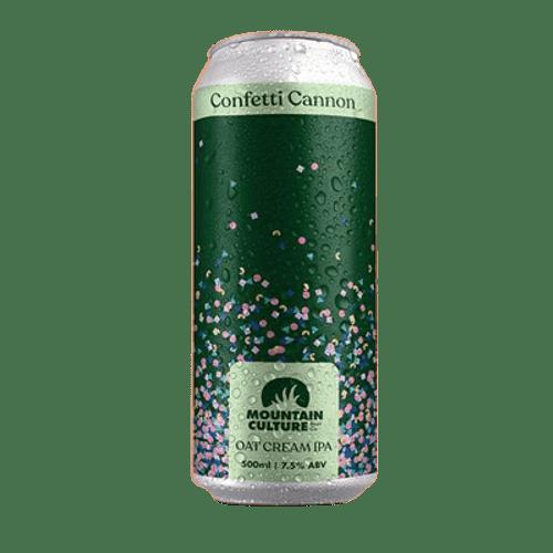 Mountain Culture Confetti Cannon Oat Cream IPA 500ml Can