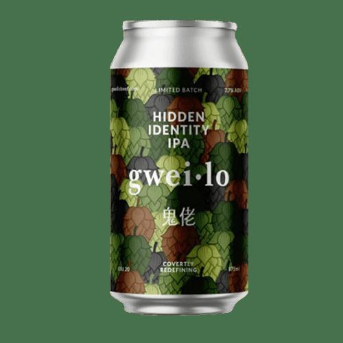 Gweilo Hidden Identity IPA 375ml Can
