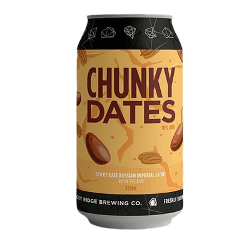 Rocky Ridge Chunky Dates Imperial Stout 375ml Can