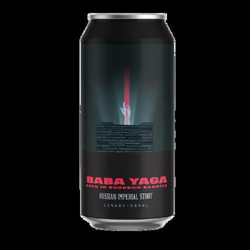 Brick Lane Trilogy of Fear Baba Yaga Bourbon Barrel Aged Imperial Stout 500ml Can