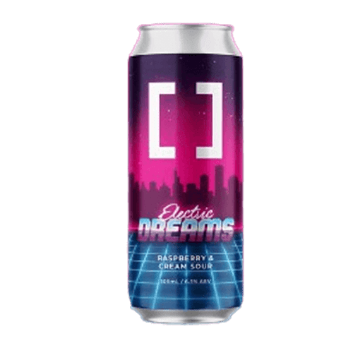 Working Title Electric Dreams Raspberry & Cream Sour Ale 500ml Can