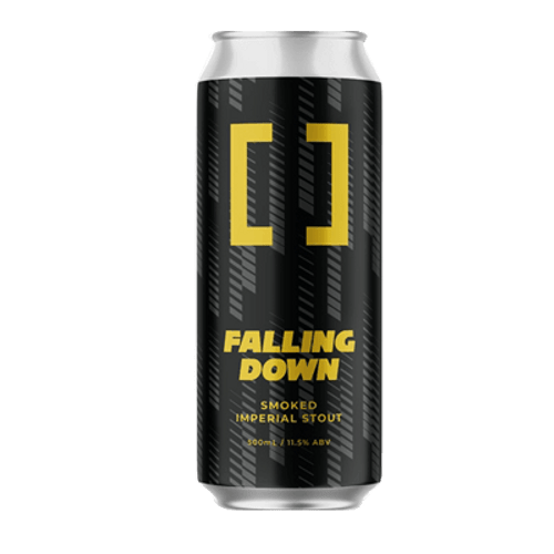 Working Title Falling Down Smoked Imperial Stout 500ml Can
