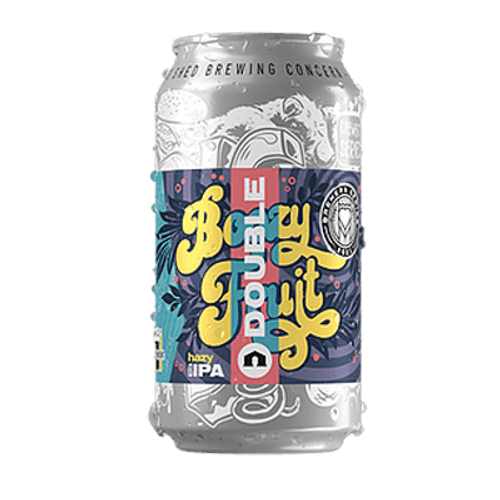 Big Shed Double Boozy Fruit Juicy Double IPA 375ml Can